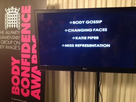 Body Gossip shortlisted in Campaigners category