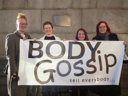 Body Gossip march to parliament