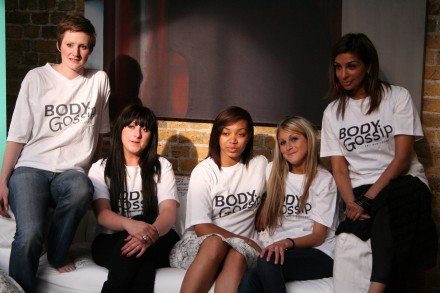 Cast members of Body Gossip's film 'A Poem for Women'