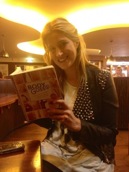 Cheska with Body Gossip Book