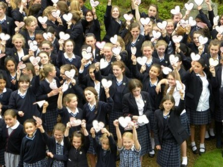 Students at Dunottar School